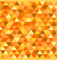 Symetrical orange triangle vector