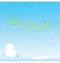 Background snow season on Christmas vector image