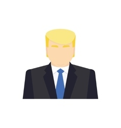 Presidential candidate icon vector