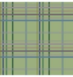 Tartan green seamless pattern vector image