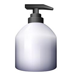 A pump-style spray bottle vector