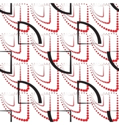 Abstract geometric pattern A seamless background vector image vector image