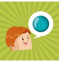 Digital marketing design technology icon vector image vector image