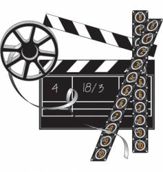 filmmaker set vector image