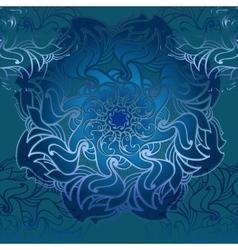 Hand drawn ornamental mandala vector image vector image