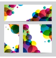 Paper with design vector image vector image