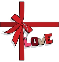Elements to Valentines Day vector image