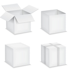 Paper boxes vector