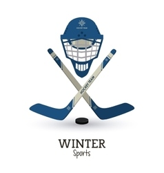 Winter sport design vector