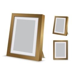 Desktop frame vector image