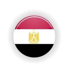 Egypt icon circle vector