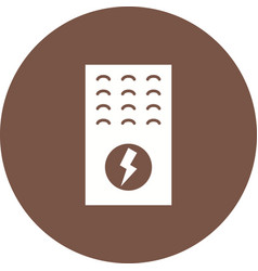electric furnace vector image vector image