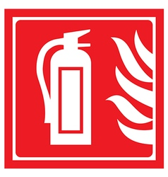 fire-extinguisher vector image