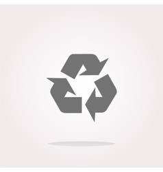 Icon Series - Recycle Sign vector image