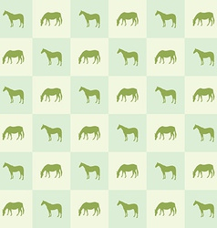 Abstract horse silhouette seamless pattern vector image vector image