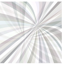 curved ray burst background - graphic from curves vector image