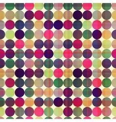 Seamless circles background texture vector