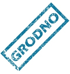 Grodno rubber stamp vector