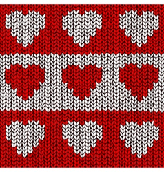 Heart jumper vector