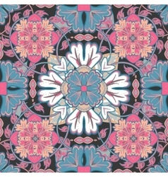 bright pattern East ornament with colorful vector image
