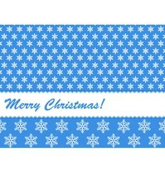 christmas card 31 vector image