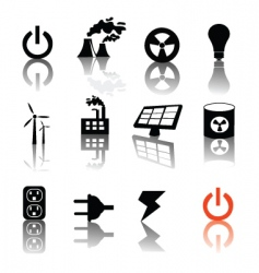 Electricity and power vector