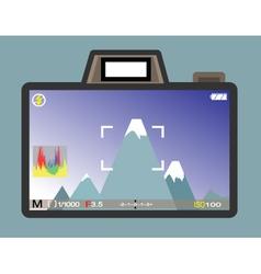 Camera view vector