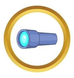 Monocular icon vector