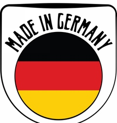 Made in Germany rubber stamp vector image