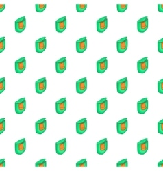 Flasket for dirty washing pattern cartoon style vector