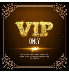 Vip members only vip persons background vip club vector