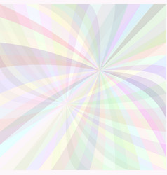 abstract curved ray burst background - from light vector image vector image