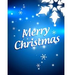 beautiful christmas design vector image vector image