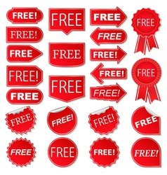 Free labels vector