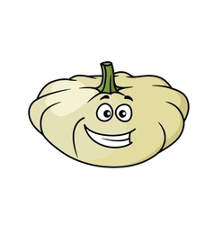 Happy cartoon pumpkin vector