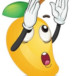 a mango vector image