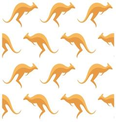 Kangaroo Pattern vector image