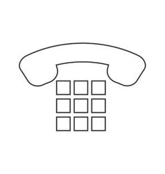 Simple phone design communication concept vector