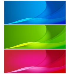 abstract color backgrounds vector image vector image