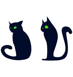 cats2 vector image vector image