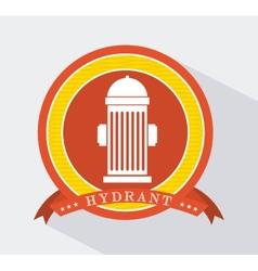 Hydrant icon vector