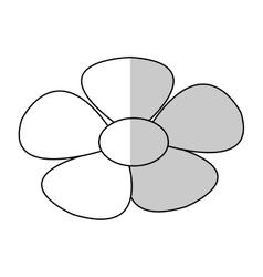 Isolated flower design vector