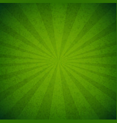 Green burst poster vector