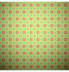 Abstract flower seamless pattern tiling vector image vector image