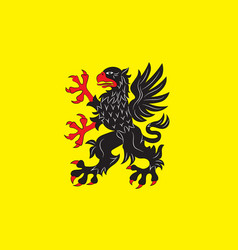 Flag of sodermanland is a historical province of vector