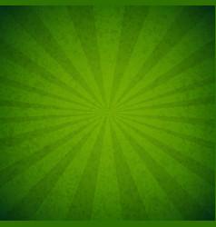 Green burst poster vector