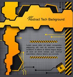 Industrial digital template vector