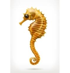 Seahorse icon vector