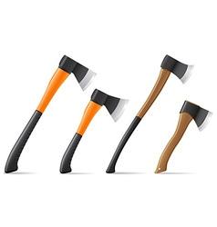 tool axe 07 vector image