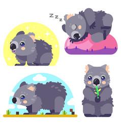 Wombat character set vector